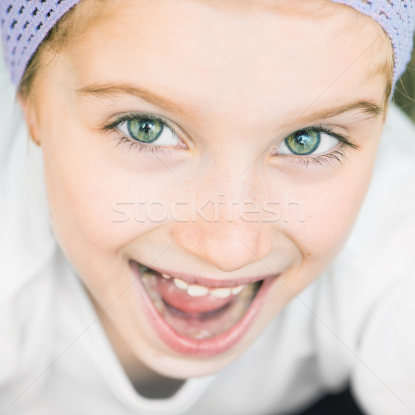 beautiful little girl Stock photo © GekaSkr