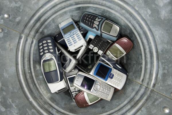 Abjected cellphones Stock photo © gemenacom