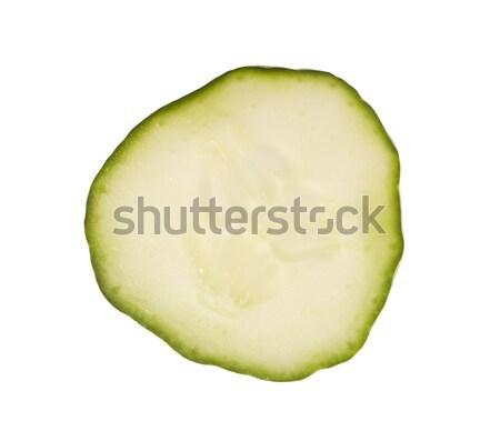 Slice of cucumber Stock photo © gemenacom