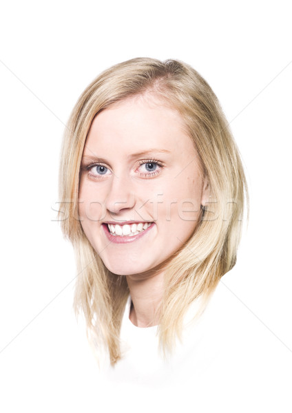 Girl with a Toothy Smile Stock photo © gemenacom