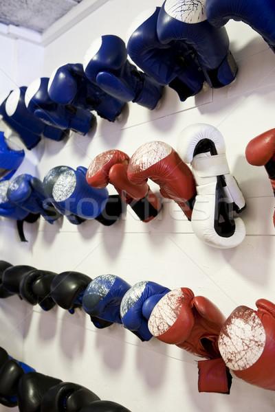 Boxing Gloves Stock photo © gemenacom