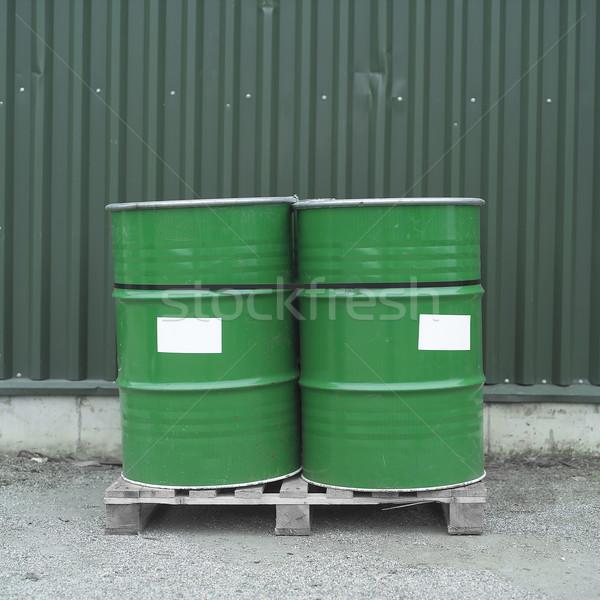 Oil Drums Stock photo © gemenacom
