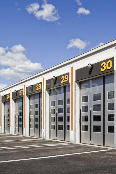 Garage porte porta store magazzino Foto d'archivio © gemenacom