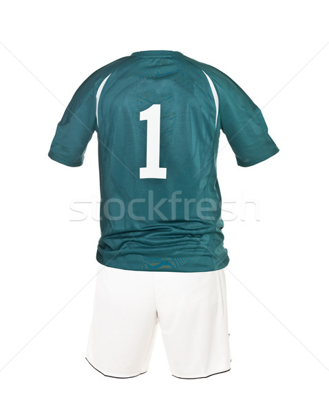 Football shirt with number 1 Stock photo © gemenacom