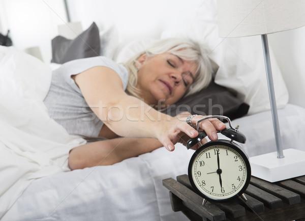 Stock photo: Wake up woman