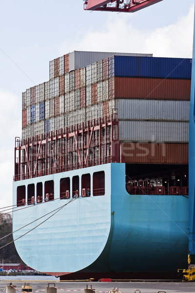 Loaded containers Stock photo © gemenacom