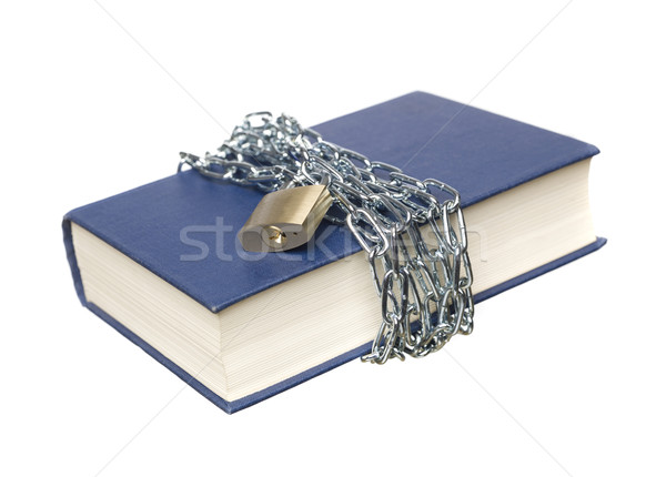 Book with a chain and lock Stock photo © gemenacom