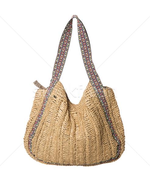 кошелька изолированный белый женщины моде лет Сток-фото © gemenacom