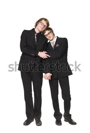 Two men interacting Stock photo © gemenacom
