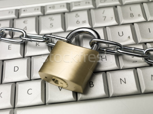 Locked computer Stock photo © gemenacom