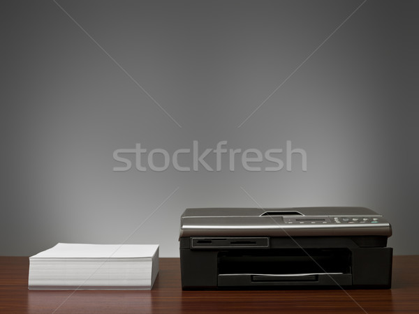 Copy Machine and a stack of  papers Stock photo © gemenacom
