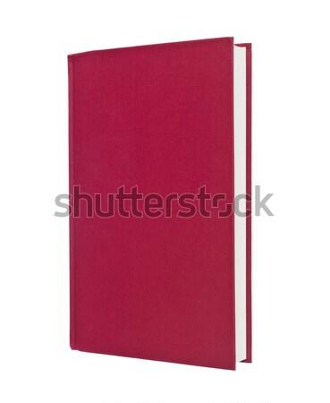 Blank Red Book Stock photo © gemenacom