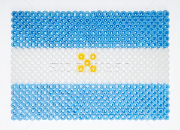 Flag of Argentina Stock photo © gemenacom