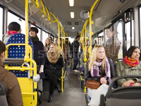 People in a bus Stock photo © gemenacom