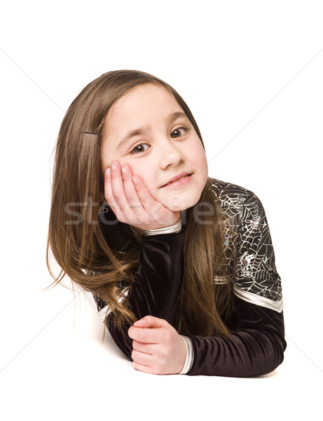 Portrait of a young girl Stock photo © gemenacom