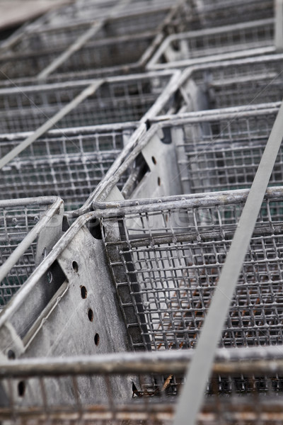 Worn metal boxes Stock photo © gemenacom