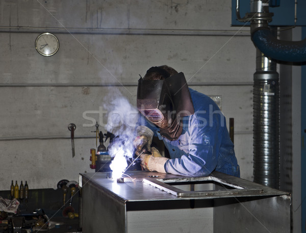 Welding operator Stock photo © gemenacom