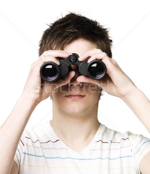 человека рук Смотреть футболку см. Сток-фото © gemenacom