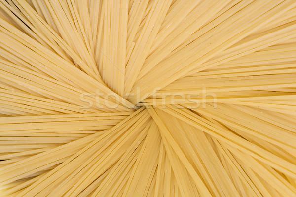Spaghetti pasta witte koken cirkel Italië Stockfoto © gemenacom