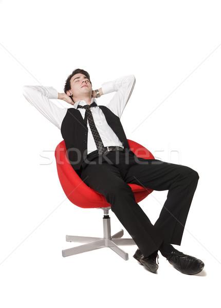 Man relaxing Stock photo © gemenacom