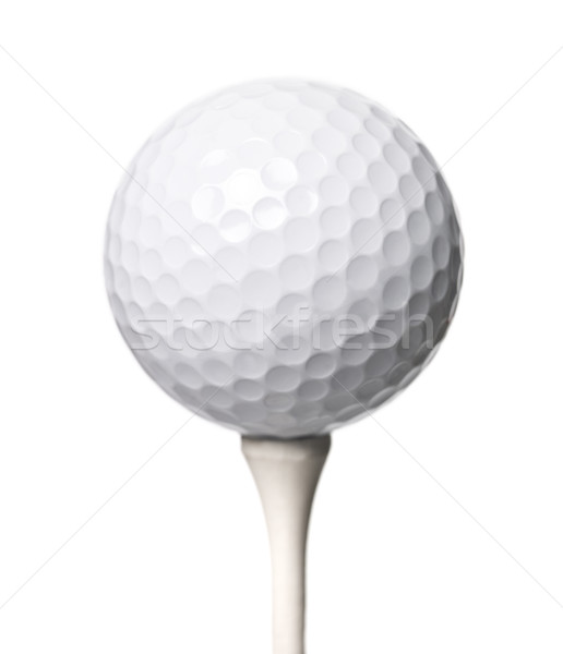 Golf ball isloated on white background Stock photo © gemenacom