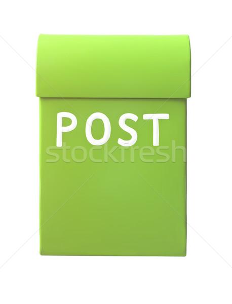 Green mailbox Stock photo © gemenacom