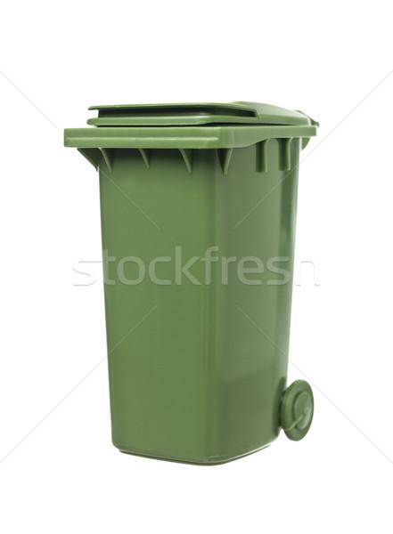 Green Recycling Bin Stock photo © gemenacom