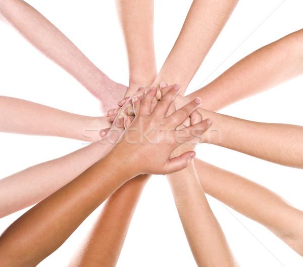 Human hands Stock photo © gemenacom