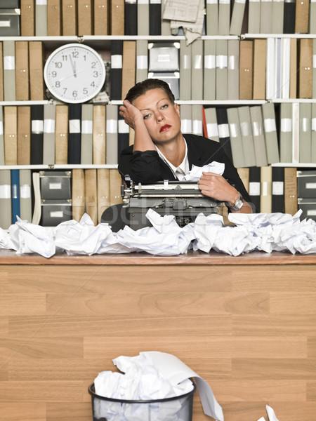 Tired Author Stock photo © gemenacom