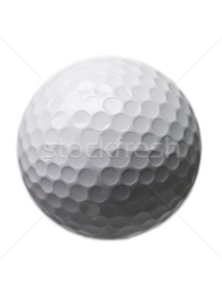 Golf ball isloated on white background Stock photo © gemenacom