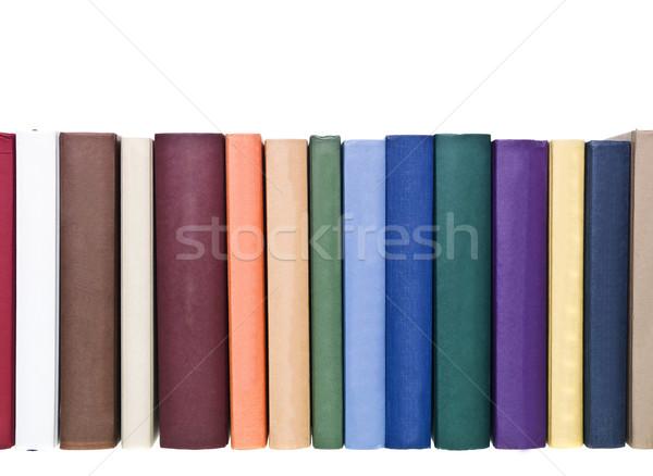 図書 孤立した 白 図書 芸術 ストックフォト © gemenacom