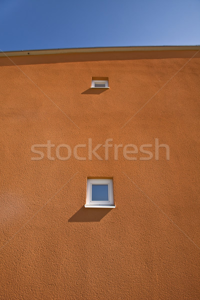 Terracotta Wall Stock photo © gemenacom