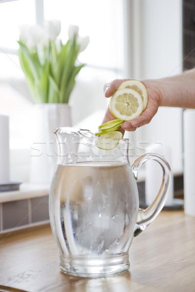 Water Carafe Stock photo © gemenacom