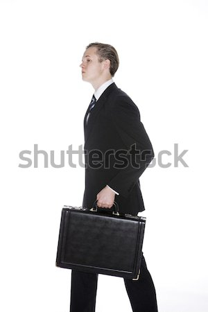 Man with an attach Stock photo © gemenacom