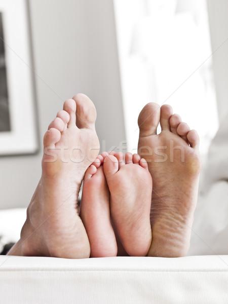 Soles of feets Stock photo © gemenacom
