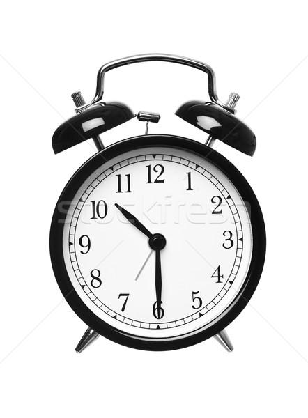 прошлое десять будильник изолированный белый Сток-фото © gemenacom