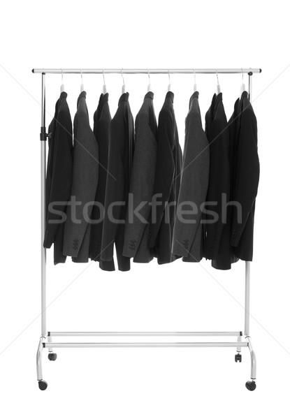 Suits on a Dress Rack Stock photo © gemenacom
