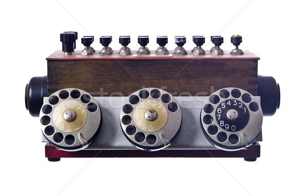 Vintage telephone Stock photo © gemenacom