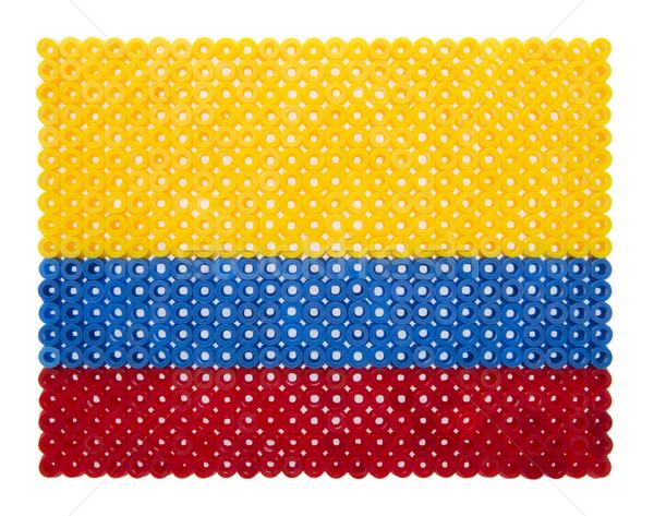 Colombian Flag Stock photo © gemenacom