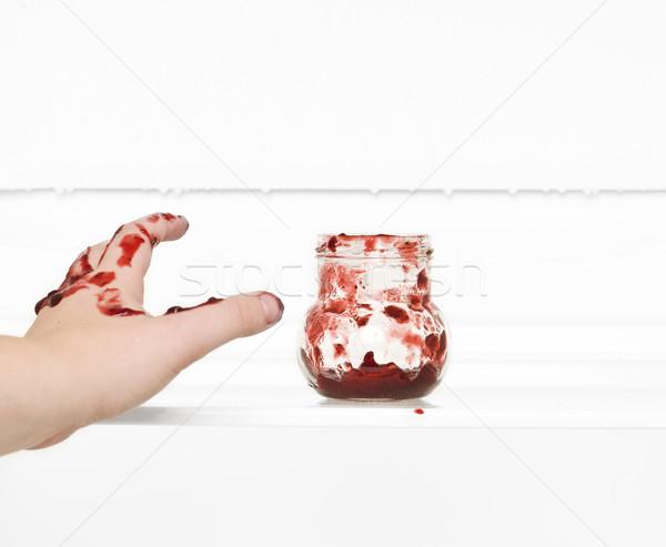 Fingers in the Jam Stock photo © gemenacom