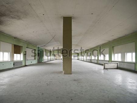 Empty warehouse Stock photo © gemenacom