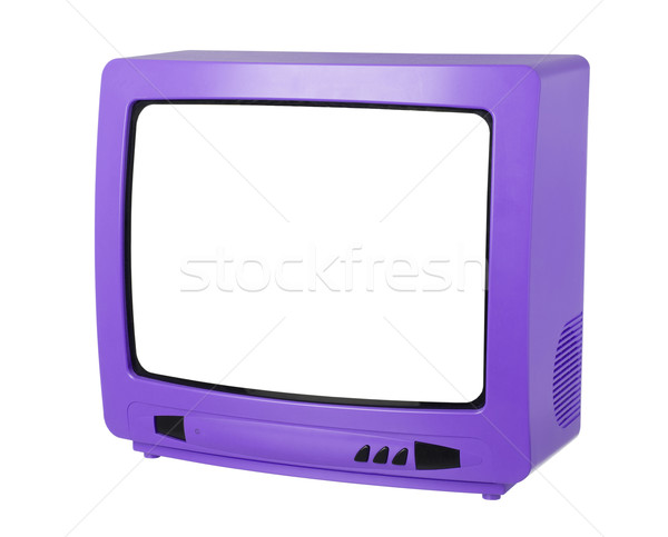 Purple Tv Stock photo © gemenacom