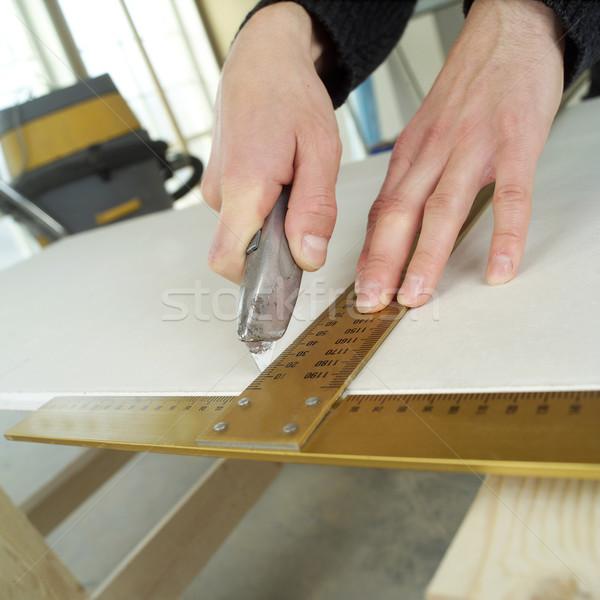 Carpenting Stock photo © gemenacom