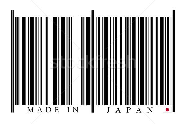 Japan barcode witte technologie zwarte markt Stockfoto © gemenacom