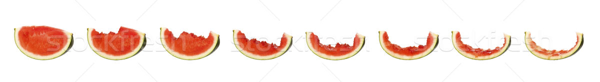 Tasty watermelon in progress Stock photo © gemenacom