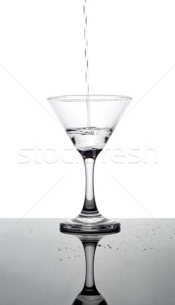 マティーニグラス 白 フルーツ ガラス ドリンク マティーニ ストックフォト © gemenacom