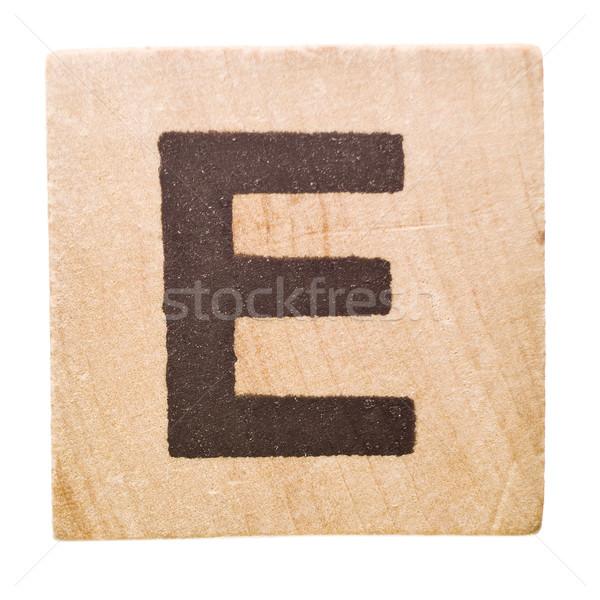 Letter E Stock photo © gemenacom