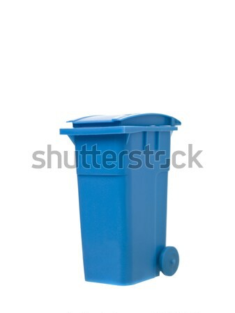 Blue Recycling Bin Stock photo © gemenacom