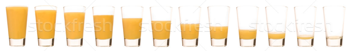Stok fotoğraf: Portakal · suyu · zaman · cam · turuncu · kahvaltı · meyve · suyu