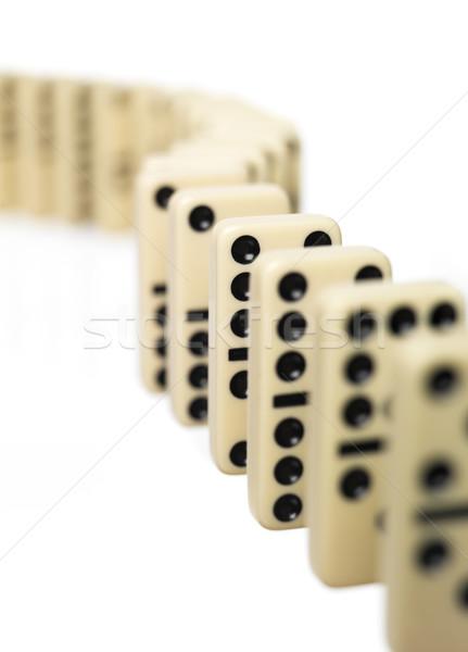 Domino Stock photo © gemenacom